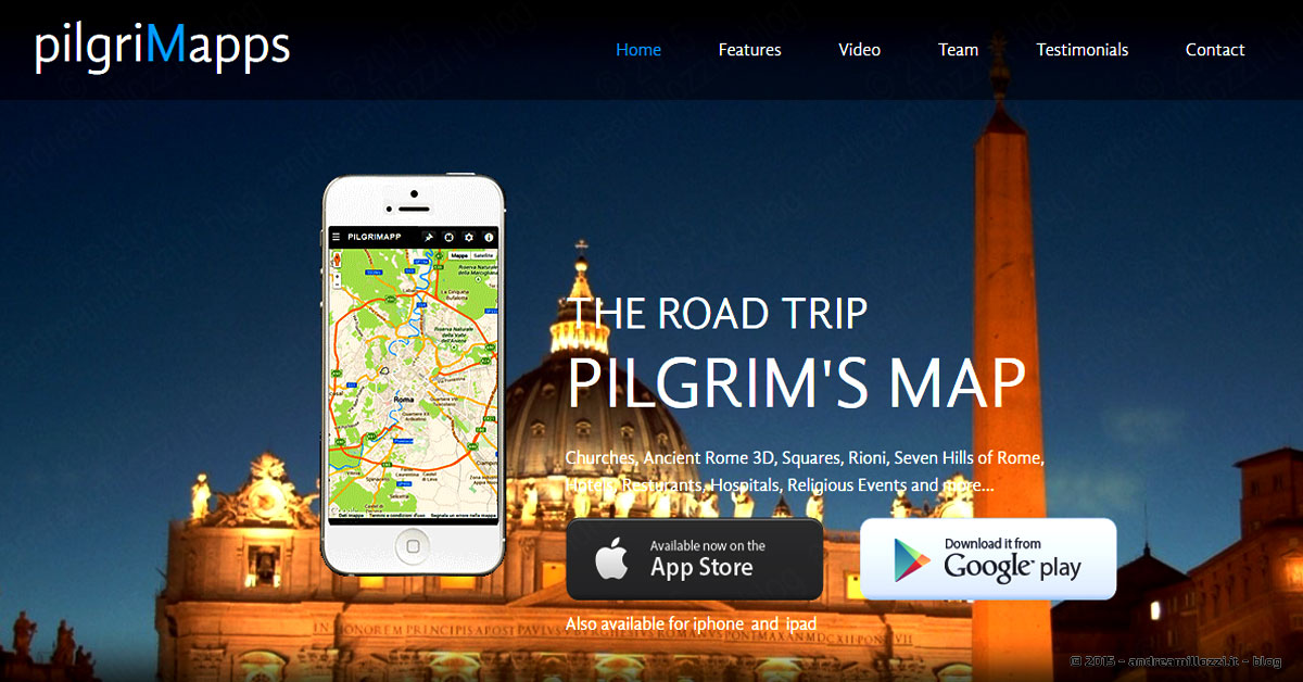 pilgriMapps | home page