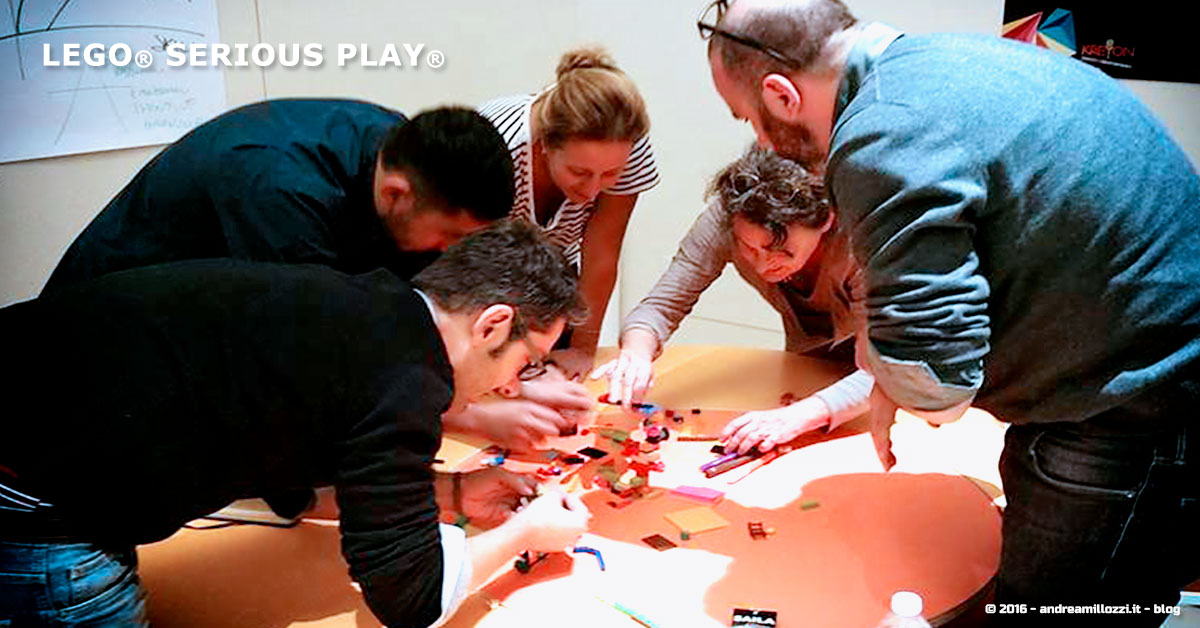 Andrea Millozzi blog | Lego Serious Play | il problem solving collaborativo per effettuare il brain storming e facilitare il team building giocando | working in progress