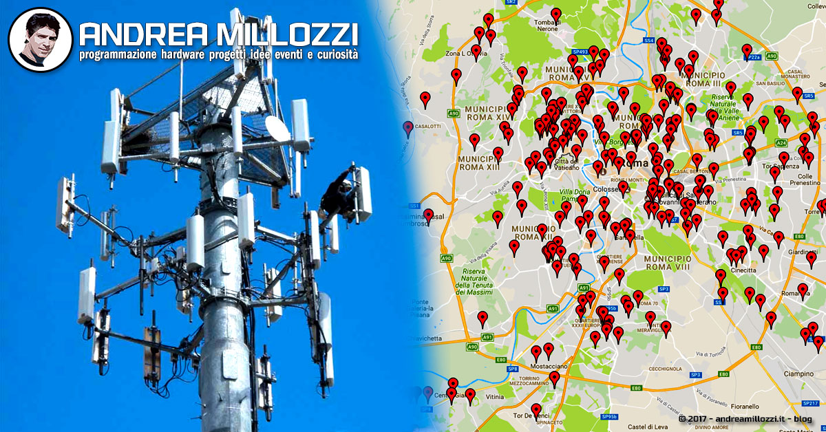 INWIT, ecco la mappa delle antenne cellulari TIM - www.cantinesanpancrazio.it