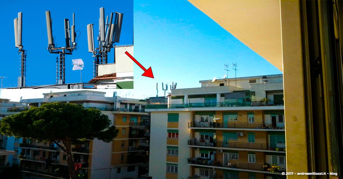 mappa ripetitori telefonia mobile roma