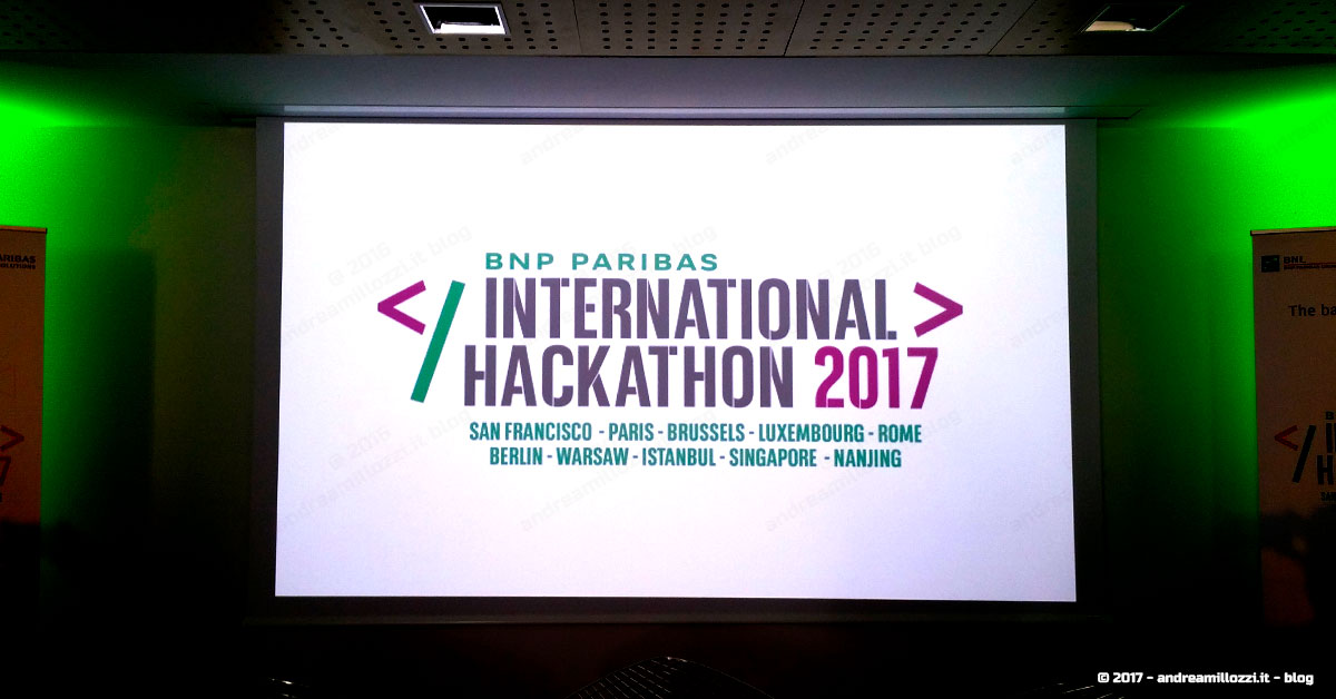 come nasce una startup innovativa? Ti racconto tutti i retroscena | International Hackathon 2017
