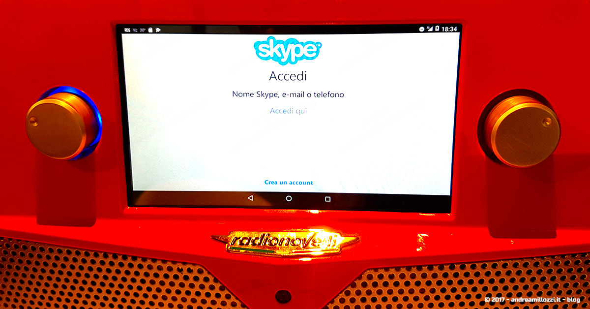 la radio hi-tech, innovativa, interattiva, di qualità, che permette di fare business | Radio 4G e Skype