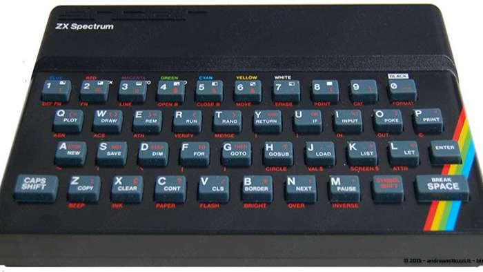 Andrea Millozzi blog - Chi è Andrea Millozzi? Scopri quello che non sai di me - il mio primo PC, lo ZX Spectrum 48K