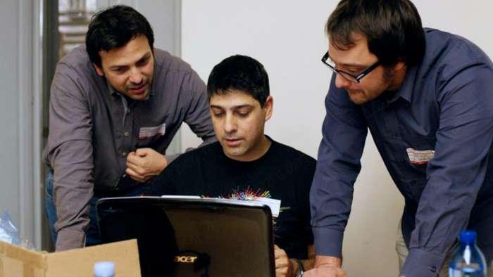Andrea Millozzi blog - Xmas Rome Hackathon 2013 - il team The Grinch