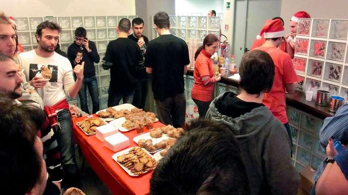 Andrea Millozzi blog - Xmas Rome Hackathon 2013 - momento di pausa