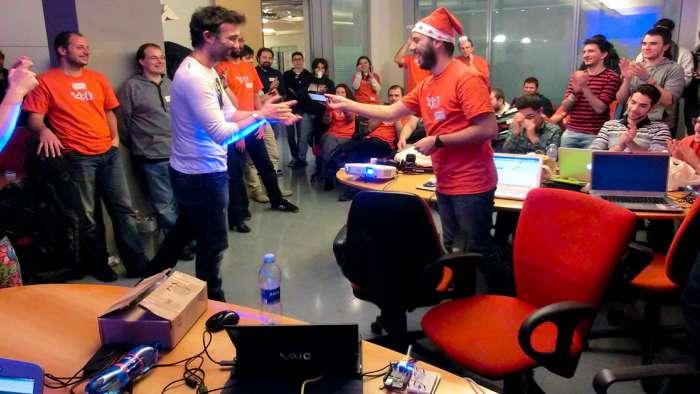 Andrea Millozzi blog - Xmas Rome Hackathon 2013 - i vincitori
