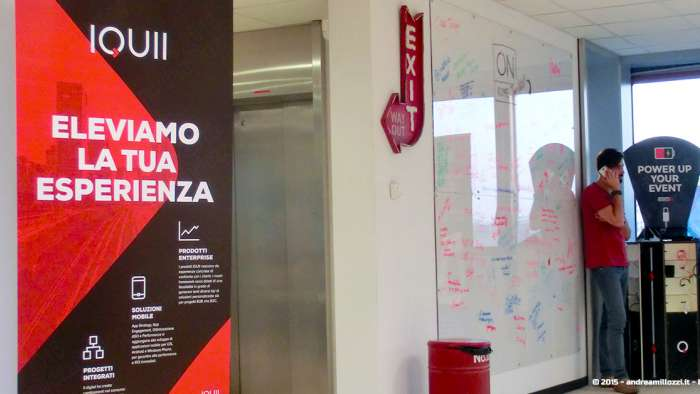 Andrea Millozzi blog - IQUII: Mobile Marketing & Strategy - ingresso