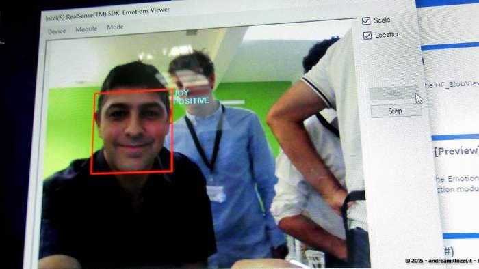 Andrea Millozzi blog - Intel® RealSense™ 3D Hands-on Lab Roma 2015: la tecnologia del futuro è a portata di webcam