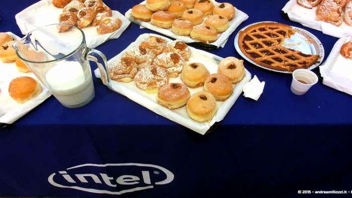 Andrea Millozzi blog - Intel® RealSense™ 3D Hands-on Lab Roma 2015: la tecnologia del futuro è a portata di webcam - colazione