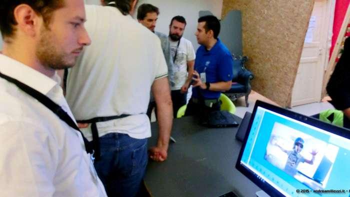 Andrea Millozzi blog - Intel® RealSense™ 3D Hands-on Lab Roma 2015: la tecnologia del futuro è a portata di webcam - prove