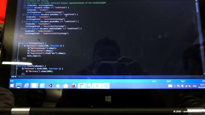 Andrea Millozzi blog - Intel® RealSense™ 3D Hands-on Lab Roma 2015: la tecnologia del futuro è a portata di webcam - dettaglio codice