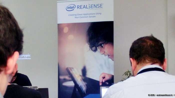 Andrea Millozzi blog - Intel® RealSense™ 3D Hands-on Lab Roma 2015: la tecnologia del futuro è a portata di webcam - poster