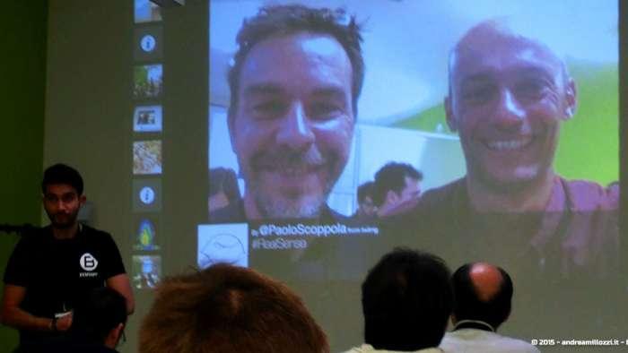 Andrea Millozzi blog - Intel® RealSense™ 3D Hands-on Lab Roma 2015: la tecnologia del futuro è a portata di webcam - presentazioni dei lavori finali