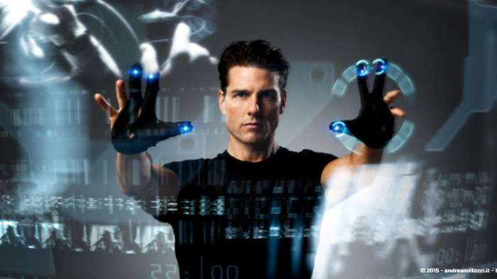 Andrea Millozzi blog - Intel® RealSense™ 3D Hands-on Lab Roma 2015: la tecnologia del futuro è a portata di webcam - Tom Cruise in Minority Report