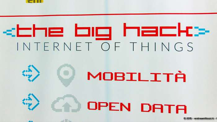 Andrea Millozzi blog - Hackathon: The Big Hack, Maker Faire Roma 2015 - locandina