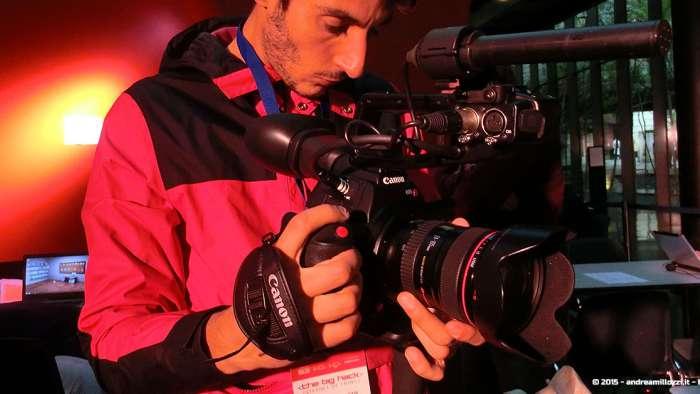 Andrea Millozzi blog - Hackathon: The Big Hack, Maker Faire Roma 2015 - video reporter