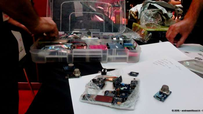 Andrea Millozzi blog - Hackathon: The Big Hack, Maker Faire Roma 2015 - invenzioni
