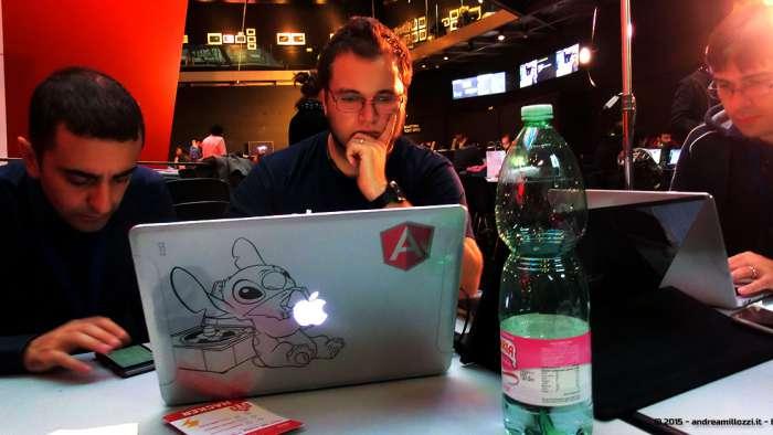 Andrea Millozzi blog - Hackathon: The Big Hack, Maker Faire Roma 2015 - team in cerca di un'idea