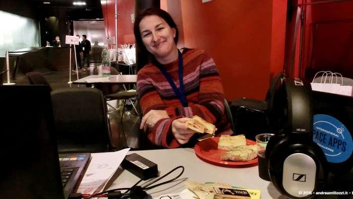 Andrea Millozzi blog - Hackathon: The Big Hack, Maker Faire Roma 2015 - Patrizia Danese