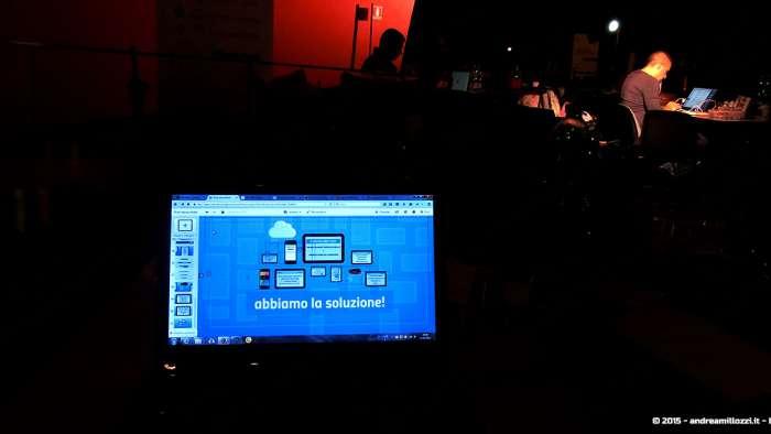 Andrea Millozzi blog - Hackathon: The Big Hack, Maker Faire Roma 2015 - presentazione in costruzione