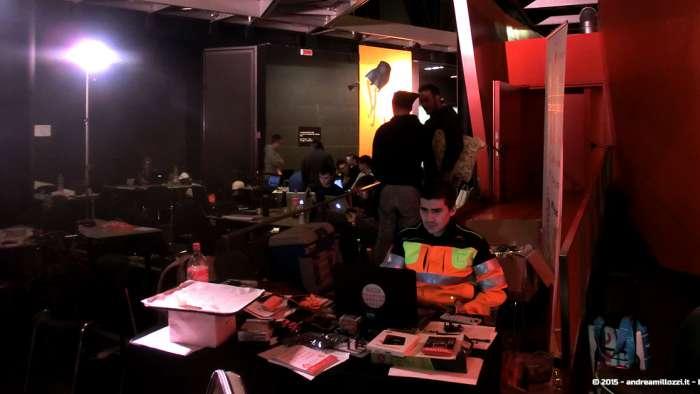 Andrea Millozzi blog - Hackathon: The Big Hack, Maker Faire Roma 2015 - team al lavoro