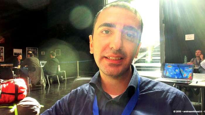 Andrea Millozzi blog - Hackathon: The Big Hack, Maker Faire Roma 2015 - Antonino Orlando