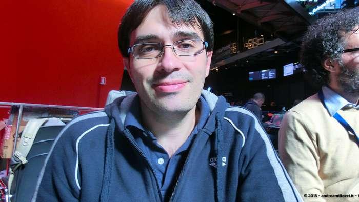 Andrea Millozzi blog - Hackathon: The Big Hack, Maker Faire Roma 2015 - Alessandro Conti