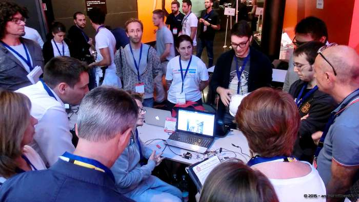 Andrea Millozzi blog - Hackathon: The Big Hack, Maker Faire Roma 2015 - le giurie valutano le idee