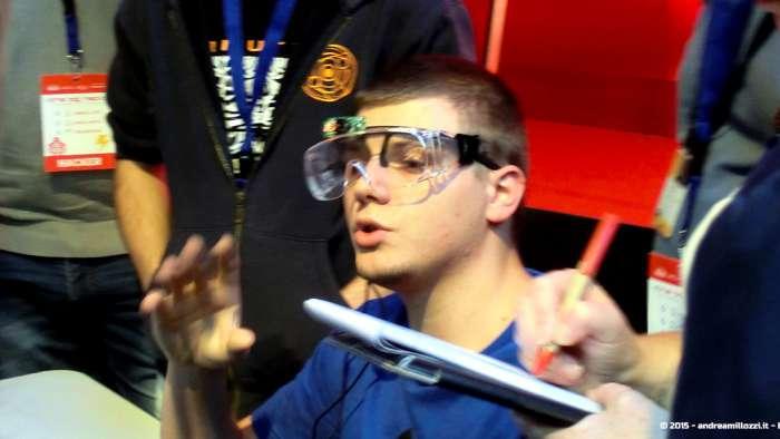 Andrea Millozzi blog - Hackathon: The Big Hack, Maker Faire Roma 2015 - come i Google Glass