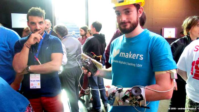 Andrea Millozzi blog - Hackathon: The Big Hack, Maker Faire Roma 2015 - invenzione da nerd