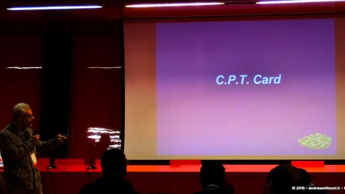Andrea Millozzi blog - Hackathon: The Big Hack, Maker Faire Roma 2015 - C.P.T. Card