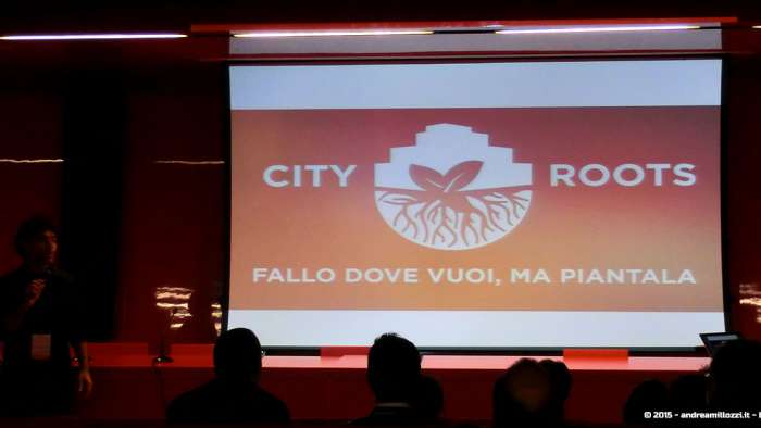 Andrea Millozzi blog - Hackathon: The Big Hack, Maker Faire Roma 2015 - City Roots
