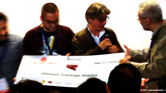 Andrea Millozzi blog - Hackathon: The Big Hack, Maker Faire Roma 2015 - premiazione