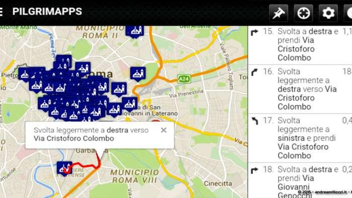 Andrea Millozzi blog - Hackathon: The Big Hack, Maker Faire Roma 2015 - pilgriMapps, dettagli il percorso