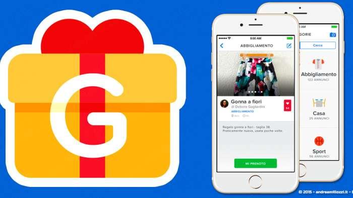 Andrea Millozzi blog - GiveAway: la migliore App per cercare e regalare oggetti usati - le categorie