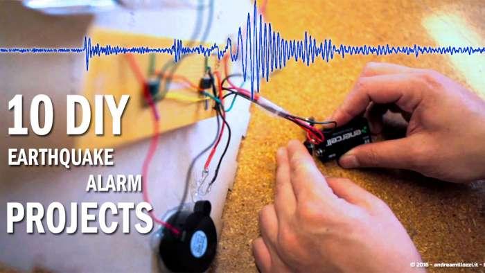 Andrea Millozzi blog | Terremoto: 10 progetti fai-da-te di allarmi che puoi realizzare per rilevare la terra che trema e correre ai ripari