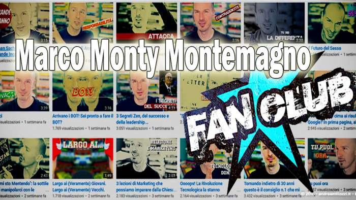 Andrea Millozzi blog | Ho incontrato Marco Montemagno | la copertina del Marco Montemagno FanClub
