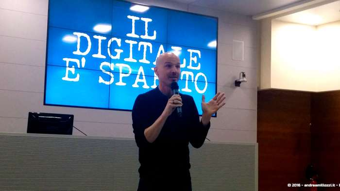 Andrea Millozzi blog | Ho incontrato Marco Montemagno | Marco Montemagno - 1
