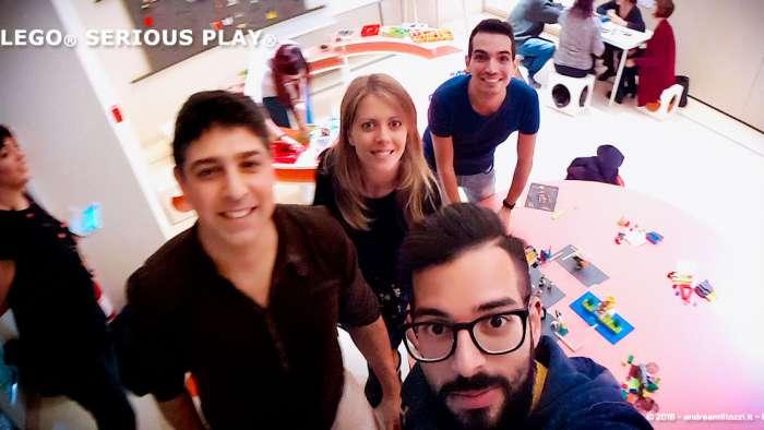 Andrea Millozzi blog | Lego Serious Play: il problem solving collaborativo per effettuare il brain storming e facilitare il team building giocando | il mio team