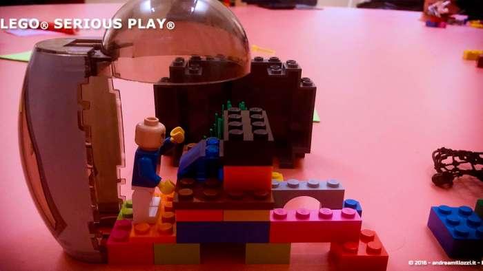 Andrea Millozzi blog | Lego Serious Play: il problem solving collaborativo per effettuare il brain storming e facilitare il team building giocando | questo sono io!