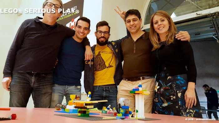 Andrea Millozzi blog | Lego Serious Play: il problem solving collaborativo per effettuare il brain storming e facilitare il team building giocando | foto ricordo