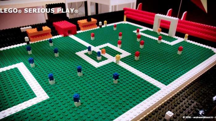 Andrea Millozzi blog | Lego Serious Play: il problem solving collaborativo per effettuare il brain storming e facilitare il team building giocando | la squadra
