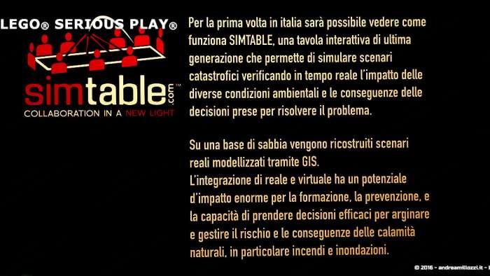 Andrea Millozzi blog | Lego Serious Play: il problem solving collaborativo per effettuare il brain storming e facilitare il team building giocando | Simtable descrizione