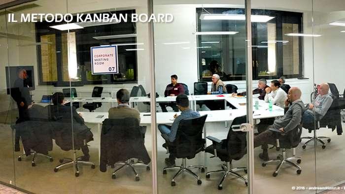 Andrea Millozzi blog | Il metodo Kanban Board: una metodologia AGILE per raggiungere gli obiettivi attraverso la visualizzazione dei processi | il team al lavoro - 1