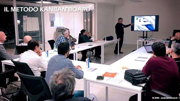 Andrea Millozzi blog | Il metodo Kanban Board: una metodologia AGILE per raggiungere gli obiettivi attraverso la visualizzazione dei processi | il team al lavoro - 2