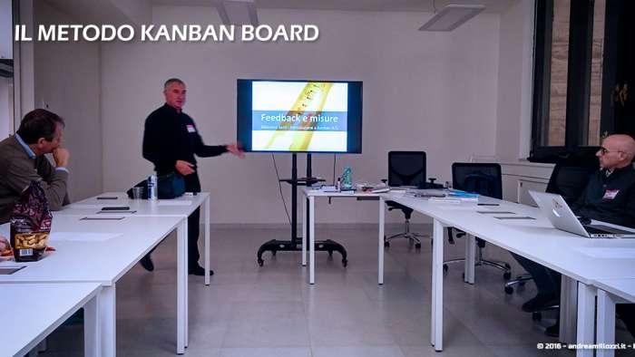 Andrea Millozzi blog | Il metodo Kanban Board: una metodologia AGILE per raggiungere gli obiettivi attraverso la visualizzazione dei processi | Massimo Sarti illustra Kaban