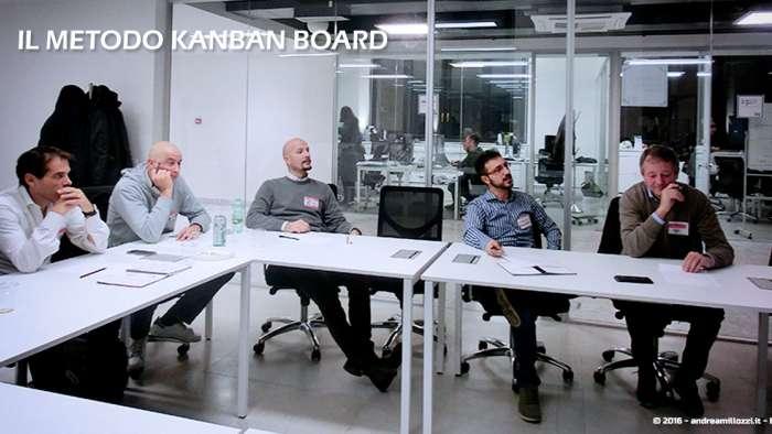 Andrea Millozzi blog | Il metodo Kanban Board: una metodologia AGILE per raggiungere gli obiettivi attraverso la visualizzazione dei processi | i partecipanti