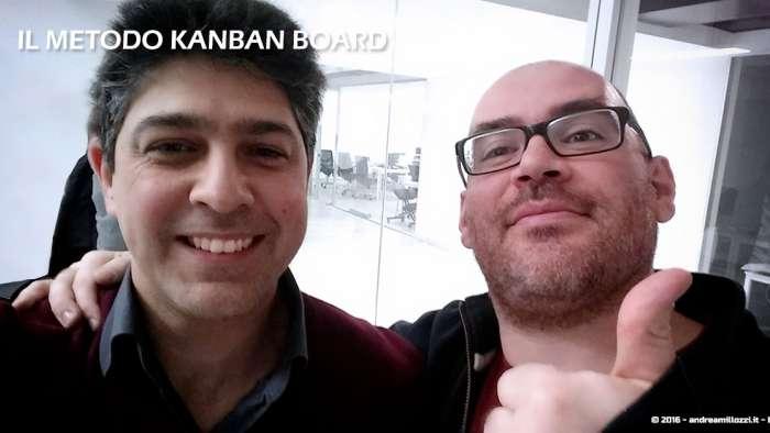 Andrea Millozzi blog | Il metodo Kanban Board: una metodologia AGILE per raggiungere gli obiettivi attraverso la visualizzazione dei processi | con Innocenzo Sansone di Codemotion
