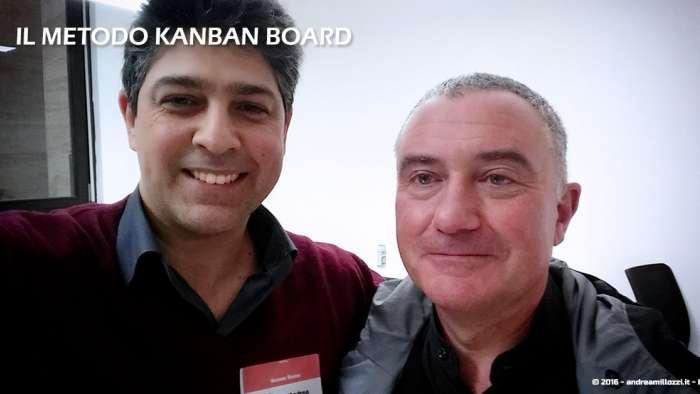 Andrea Millozzi blog | Il metodo Kanban Board: una metodologia AGILE per raggiungere gli obiettivi attraverso la visualizzazione dei processi | con Massimo Sarti