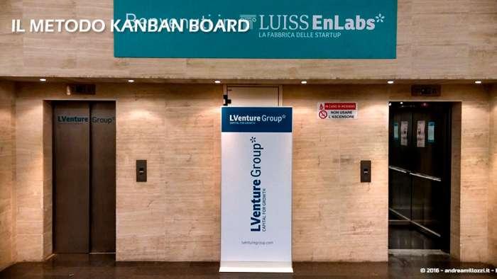 Andrea Millozzi blog | Il metodo Kanban Board: una metodologia AGILE per raggiungere gli obiettivi attraverso la visualizzazione dei processi | Luiss ENLABS - 2